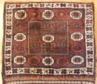 Big Baluch / Belutsch Khordjin. Size: 78 x 179 cm. Perfect condition.