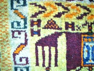 Antique South-Persia bagface. Size: 28 x 40 cm. Good condition. Interesting item.