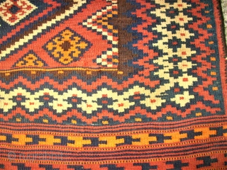 Rare Luri Kilim - Size: 150 x 400 cm. Absolutly TOP and lovely.
