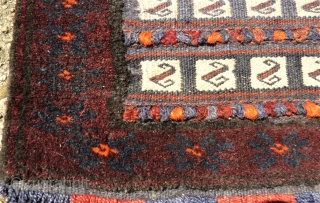 Baluch Saltbag. Size: 41 x 56 cm.