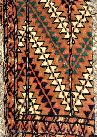 Turkmen Yomud Okbash. Size: 20 x 80 cm.
