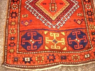 antique Anatol Malatya Kürd. Size: 96 x 351 cm. TOP.