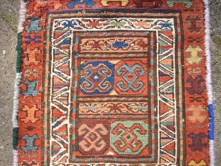 Antique, very nice sumakh Bag. Size: 119 x 42 cm.