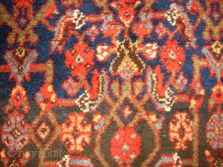 Very old Bidjar. Kurdish rug. Size: 210 x 119 cm. Full pile. Best quality of wool. foundation also wool. Nice colours.