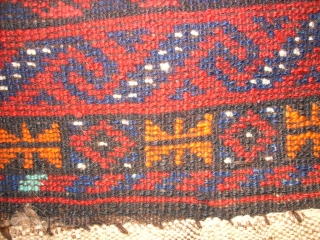 Old bag from Afghanistan. Size: 59 x 58 cm. Good condition. Shiny wool.