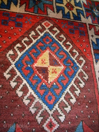 Antique anatolian Karakecili. Size: 193 x 80 cm. Pieces of thin pile. Nice and interesting item.