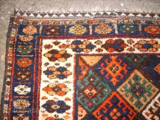 Old kurdish Jaff bag face. Size: 94 x 74 cm. Full pile. Nice colors.