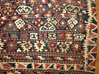 Kurdish bag - Quchan Kordi. Size: approx. 40 x 65 cm. It´s only one side of a Heybe.