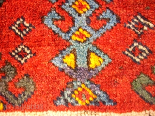 Old and beautiful anatol Yastik. Size 100 x58 cm. Nice colors and lovely ornamentik.