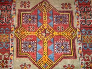 Very old anatol Yürück. Size: 250 x 94 cm. Wonderful colors and interesting ornamentik. Used.