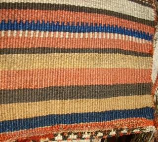 Very old kurdish small Heybe(Khordjin). Size: 66 x 30 cm. Very interesting piece. Good condition.