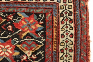 "Afshar bagface. Desirable iconic design field with a charming border. All natural colors. Good pile. Nice original closure tabs. Clean and ready for your collection. 24"" x 29"""