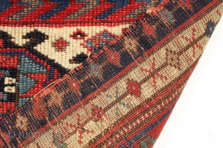 """Antique kurd bagface. First rate color. Worthy of consideration. Good age ca. 1875 or earlier. 21"""" x 28"""""""