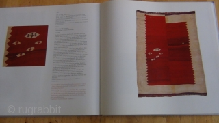Book. The Vok collection, caucasian and persian kilims. München 1996. Condition good, 107 specimen shown by outstanding photographs.  This collection, no longer existing, was esteemed to be the world's best collection  ...