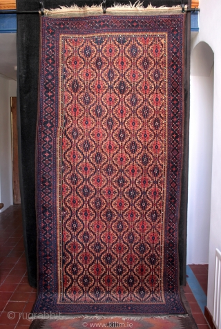 Finely woven Arab Baluch rug in exceptional condition.