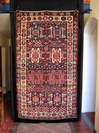 Rare type of Kurdish Khorasan Quchan rug.
