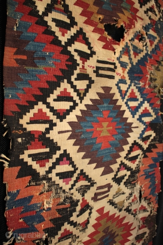 Late 18th to early 19th century Anatolian Karakecili tribe kilim.