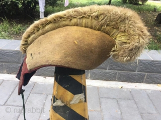 Tibet Lama hat , complete no any repair. Good age.