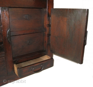Original Antique Japanese Gifu accountants Choba