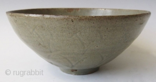 Antique Korean Koryo Celadon Bowl