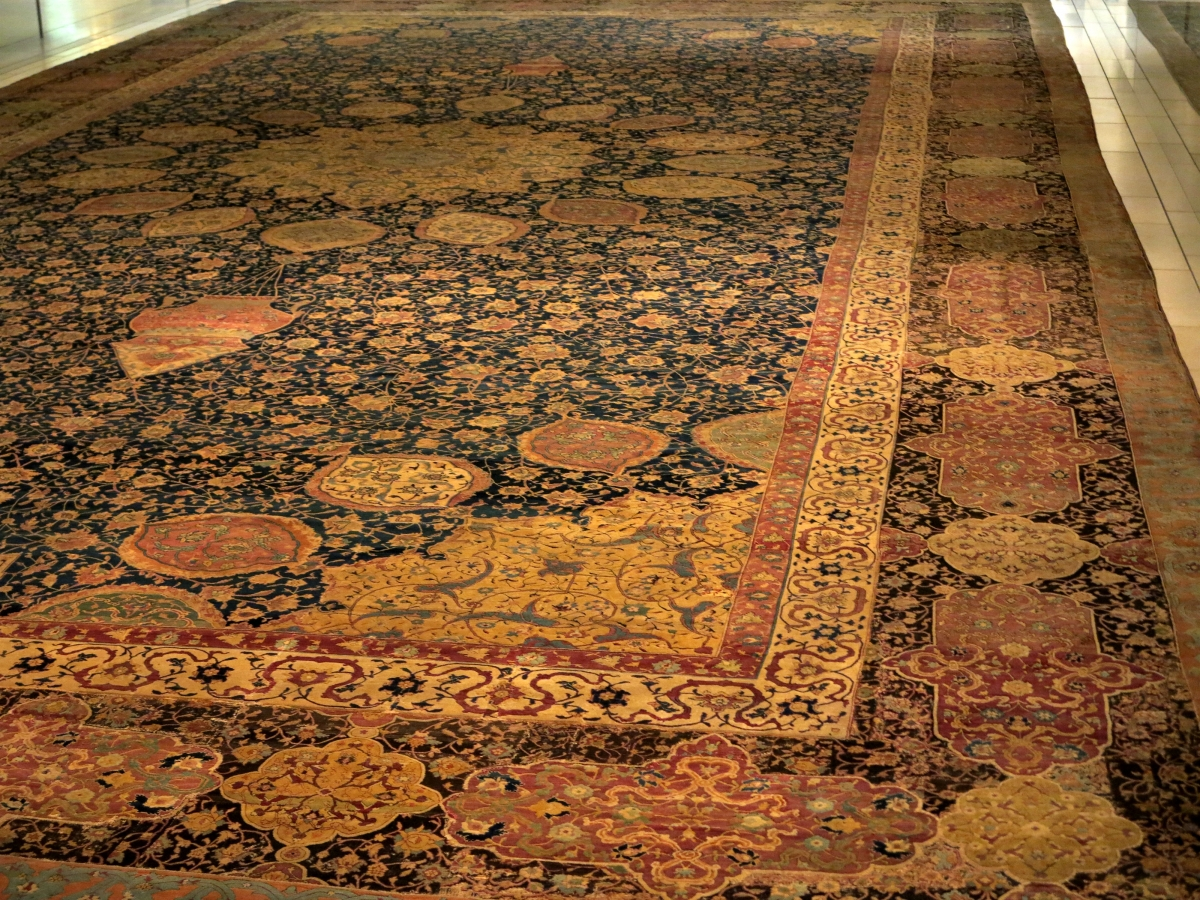Classical Carpets In The Victoria And Albert Museum