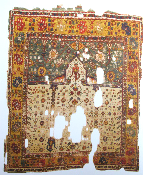 TIEM Istanbul Carpets Dazkiri prayer rug