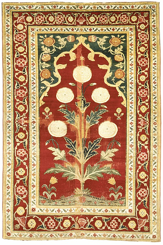 Mughal prayer rug