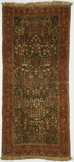 Persian shrub carpet