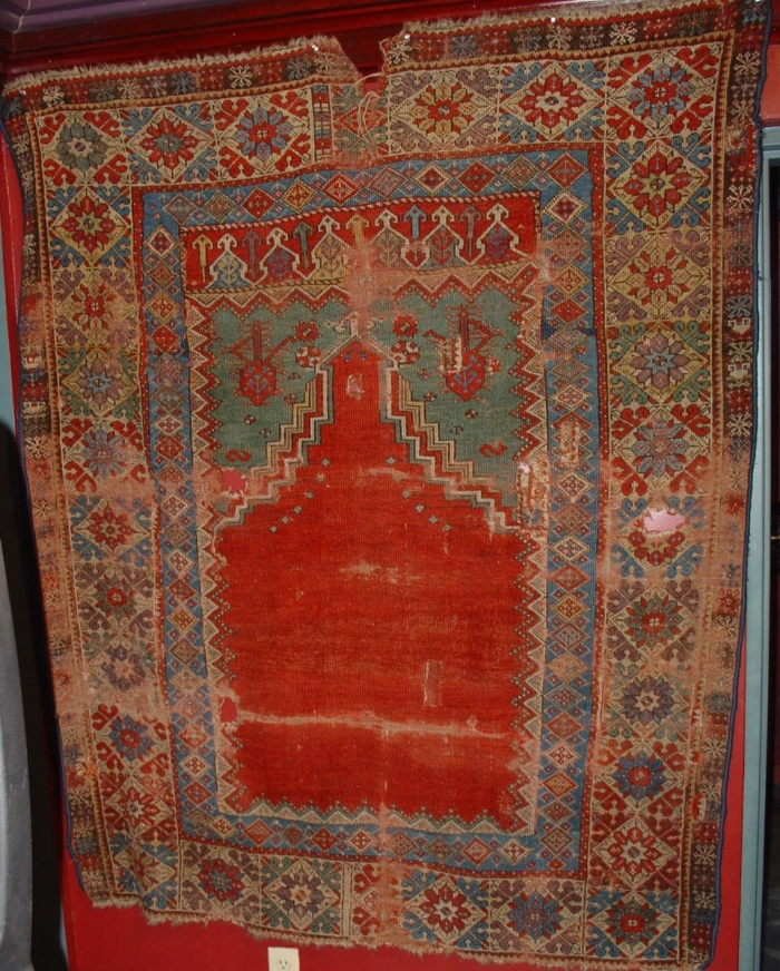 Mujur Prayer Rug Turkish Ewers