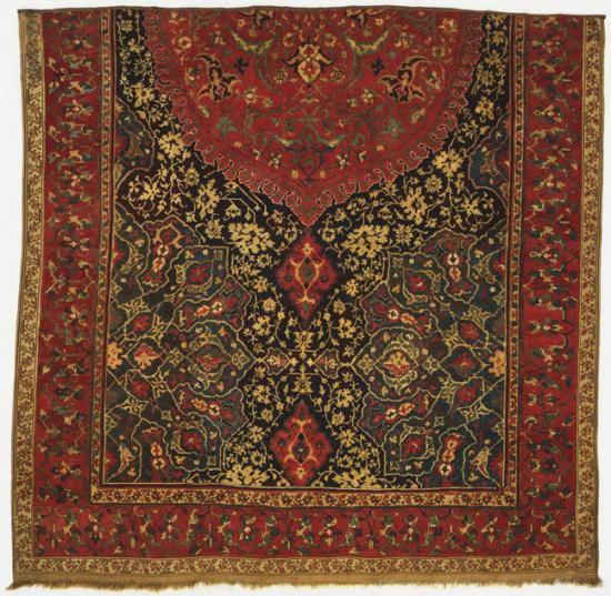 Medallion Ushak Carpet fragment