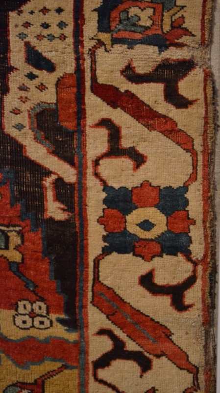 Caucasian Dragon Carpet Berlin Museum