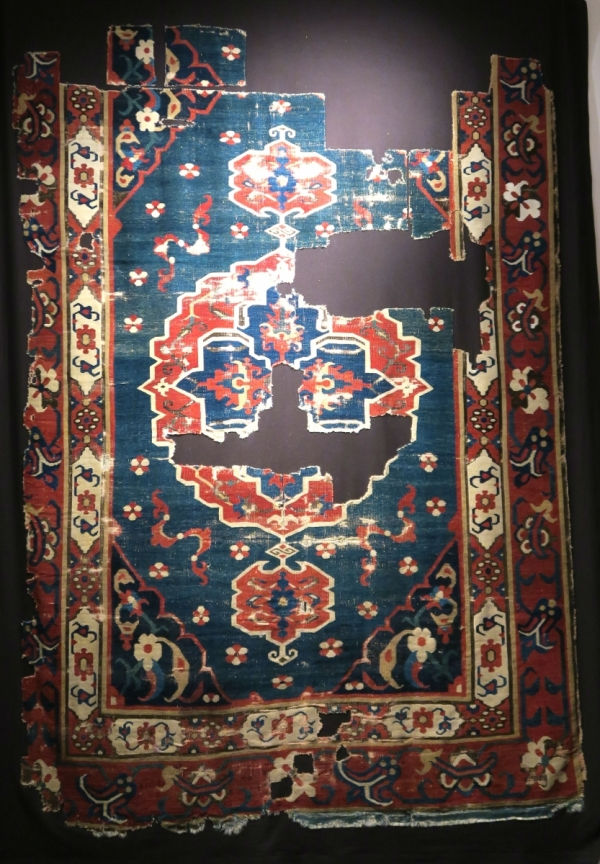 Rugs from the Christopher Alexander Collection at Sotheby's: A Karapinar carpet fragment