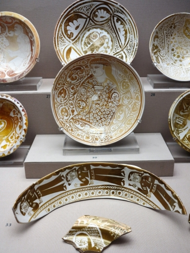 Fatamid Luster Ware, Egypt, 11th century, Benaki Museum of Islamic Art, Athens
