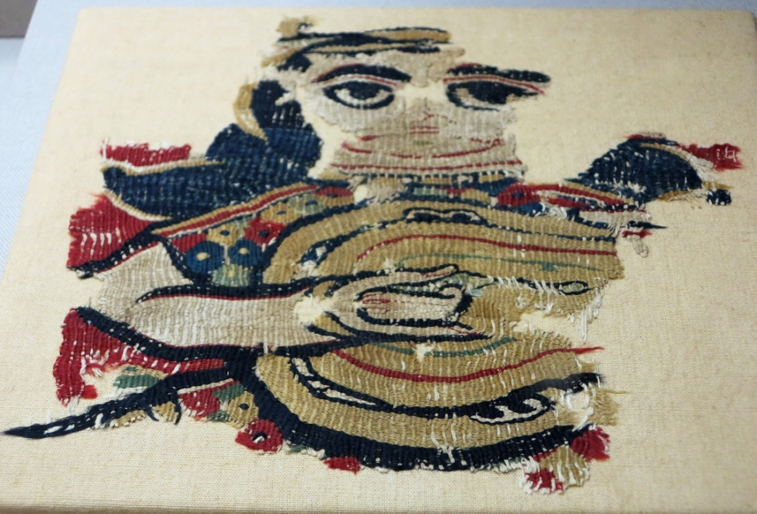 Early Islamic tapestry fragment, Egypt, 8th-9th century Benaki Museum of Islamic Art, Athens