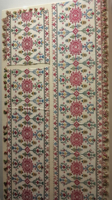 Benaki Museum, Greek embroidery, 18th cen?,not sure of origin
