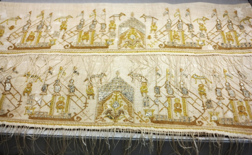 embroidery from Asia Minor (Turkey), 18th-19th century, Benaki Museum