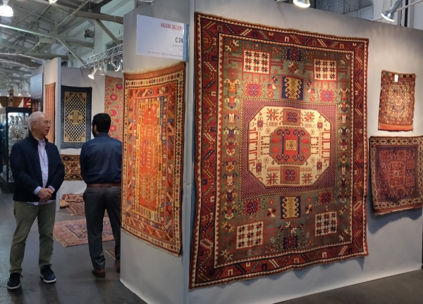 San Francisco Tribal & Textile Arts Show, 2020 Hazara Gallery