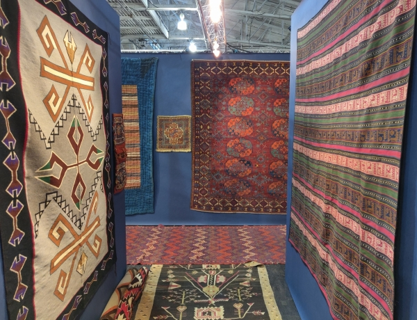 San Francisco Tribal & Textile Arts Show, 2020 Peter Pap