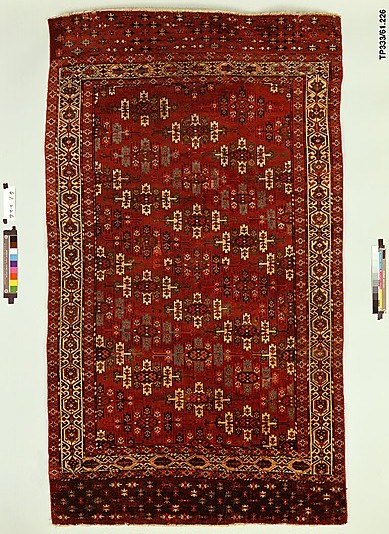 Yomut Kepse gul Carpet
