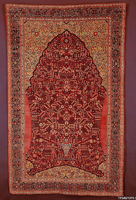 pashmina mille fleurs rug